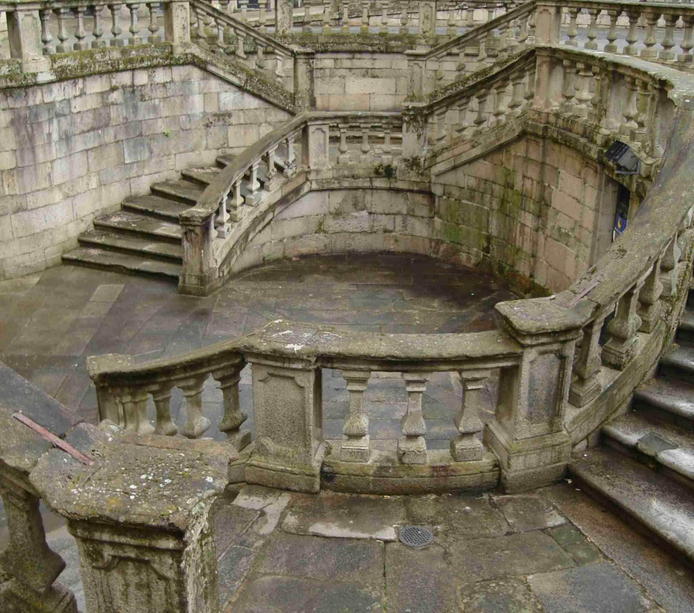 Steps outside Santiago de Compostela Spain discountholiday1
