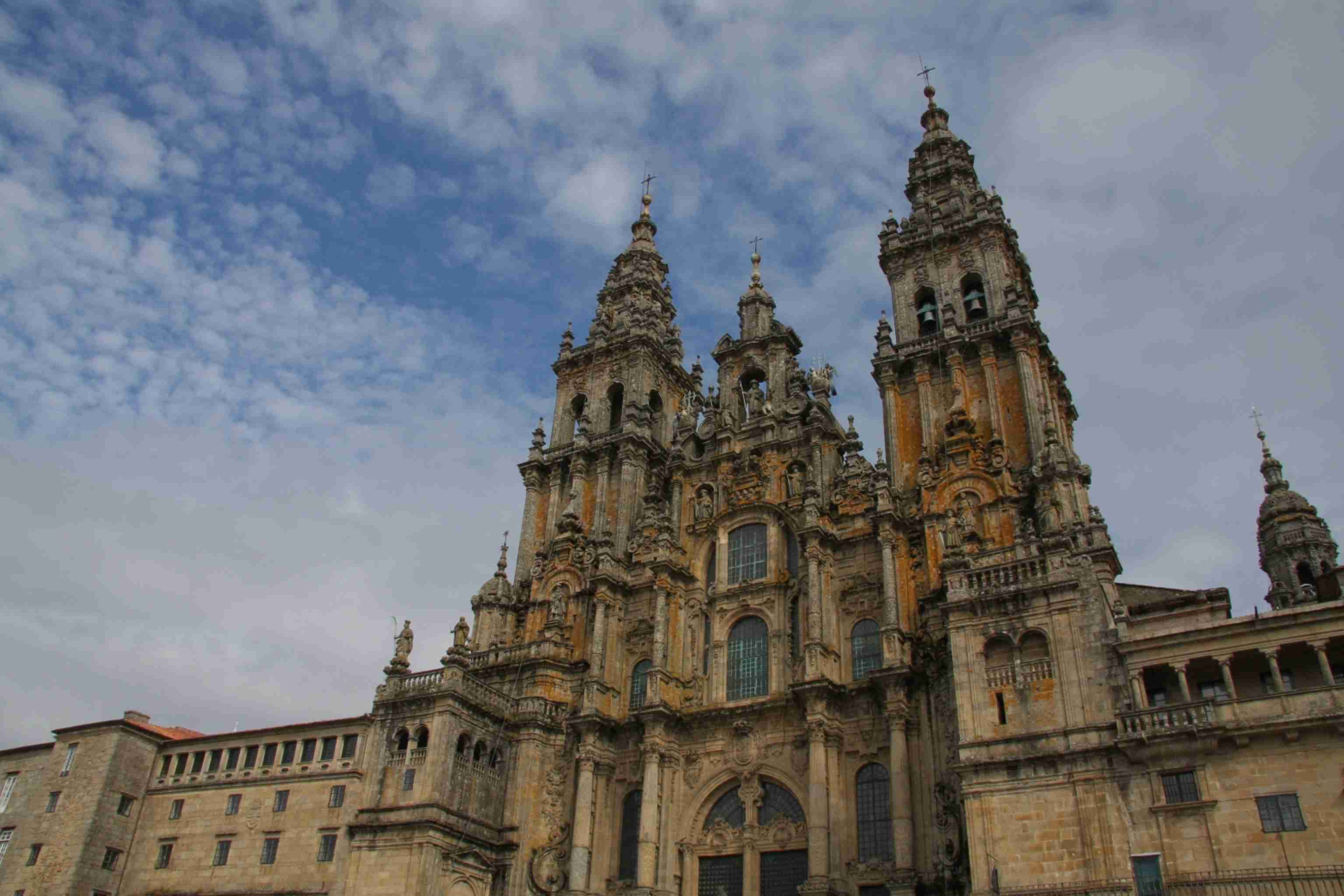 Front Santiago de Compostela Cathedral Spain discountholiday1