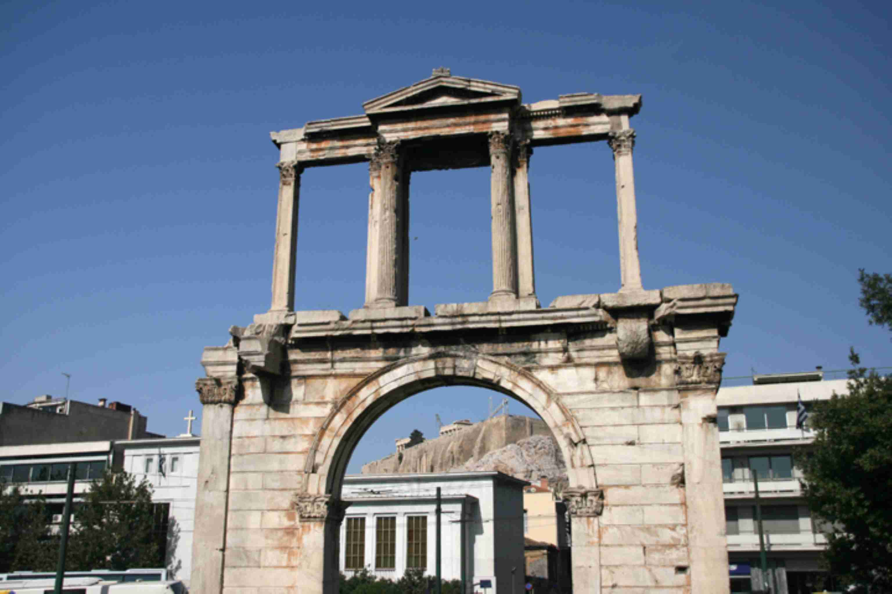 Hadrians Arch Athens Greece discountholiday1